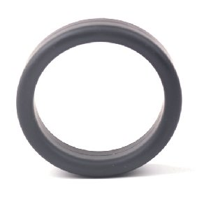 Black Color Thick Silicone Cock Ring